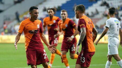 Morutan Galatasaray kariyerine asistle başladı, Cicaldau yine gol attı