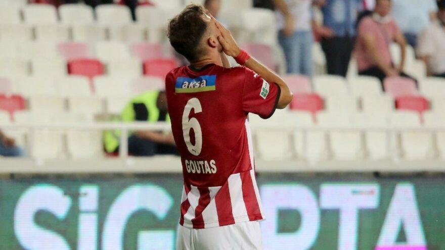 Sivasspor'da Dimitris Goutas golü attı, ağladı!