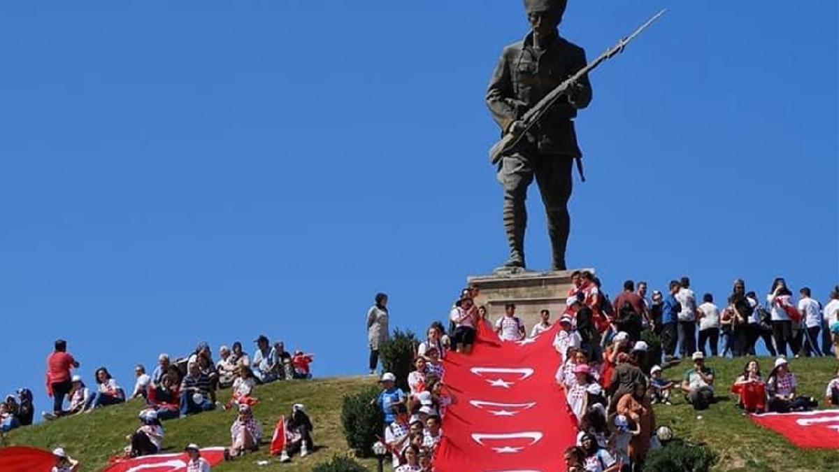 Atatürk ve Dumlupınar Zafer Yürüyüşü'nün 4'üncüsü düzenleniyor