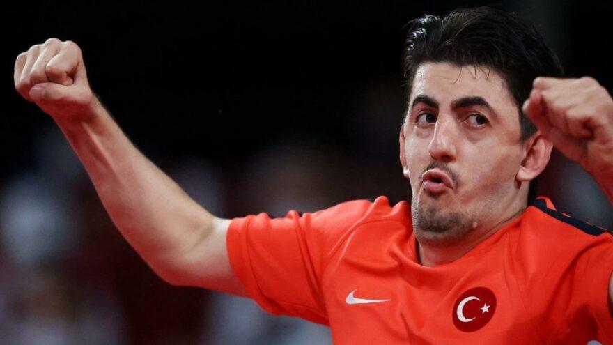 30 Ağustos'ta müthiş zafer! Abdullah Öztürk Olimpiyat şampiyonu…