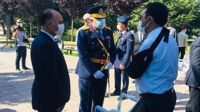 Kayseri'deki 30 Ağustos törenlerinde Atatürk'ün ismi anılmadı, İYİ Partili Başkan alanı terk etti