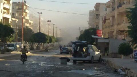 Terör örgütü PKK'dan Afrin'e saldırı: 6 yaralı