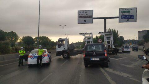 İstanbul'da Vatan Caddesi trafiğe kapatıldı