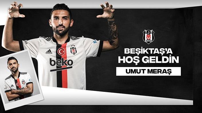 Beşiktaş, Umut Meraş ile 3+1 yıllık sözleşme imzaladı