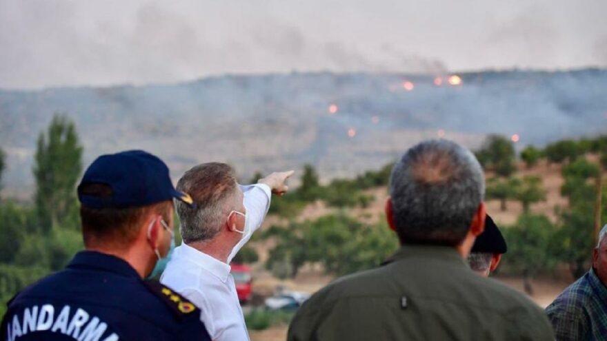 Bir orman yangını da Gaziantep'te