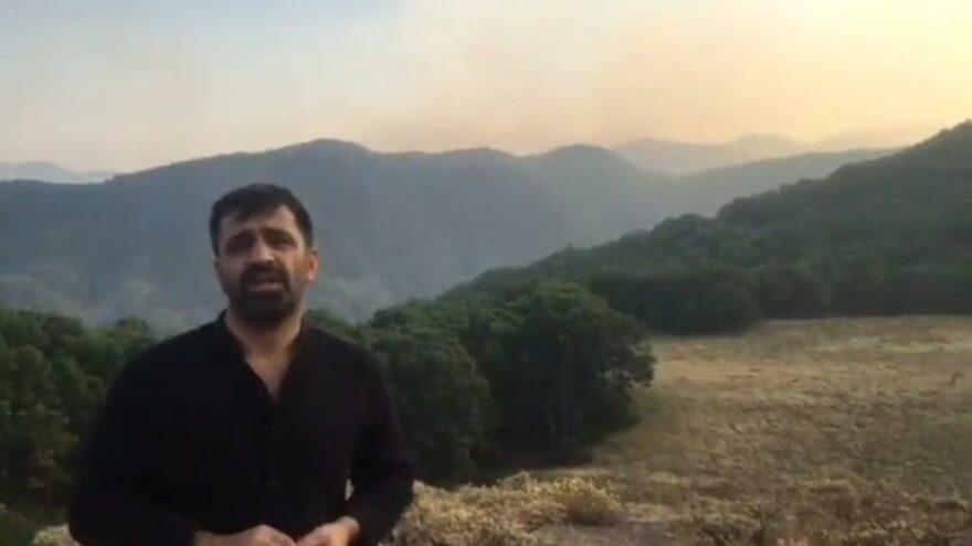 Munzur Vadisi'ndeki yangın sürüyor: Havadan müdahale şart