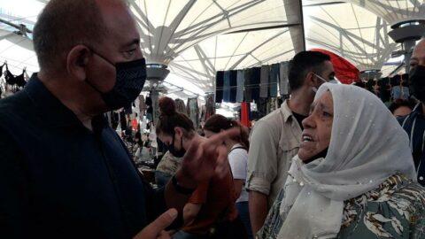 CHP'li Tekin, 'iktidarın yüzde 20'lik büyüdük' açıklamasını halk pazarında sordu