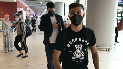 Fenerbahçe'nin yeni transferi Diego Rossi İstanbul'da!