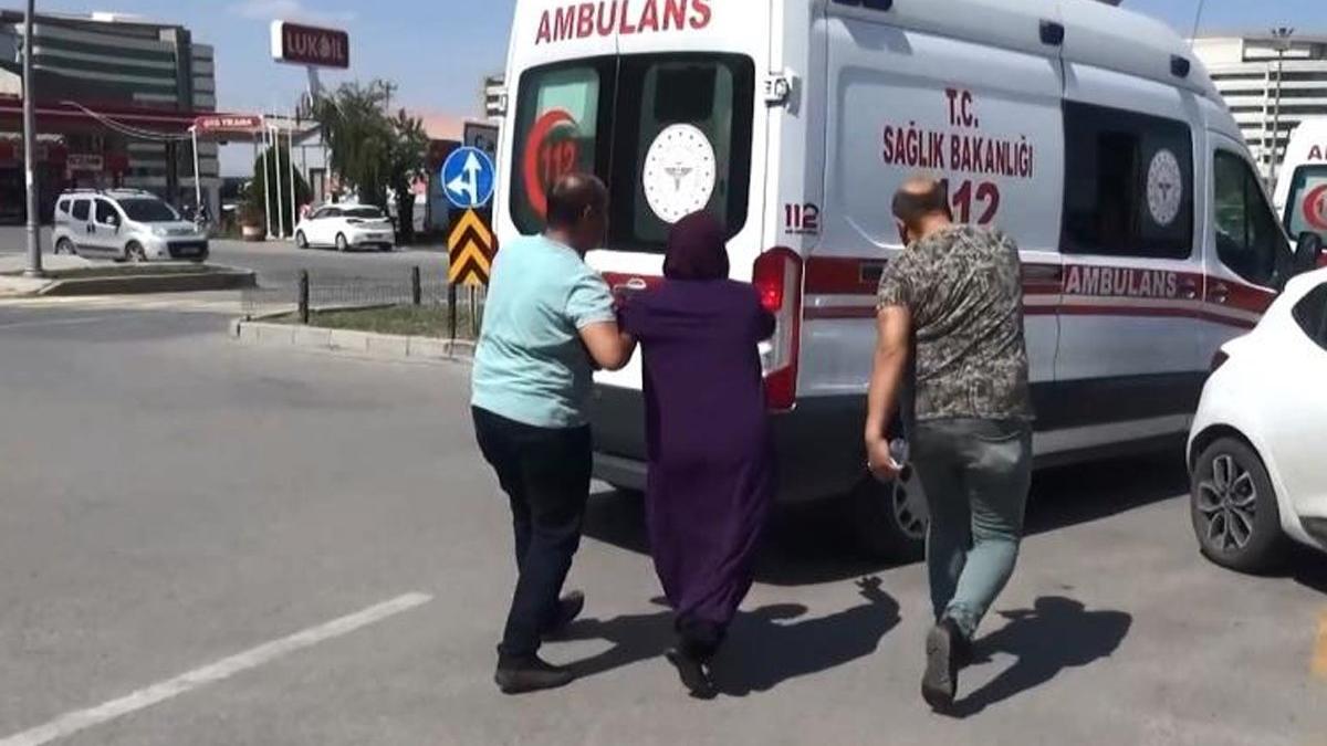 Kaza yapan kocasını öldü sanıp ambulansın peşine koştu