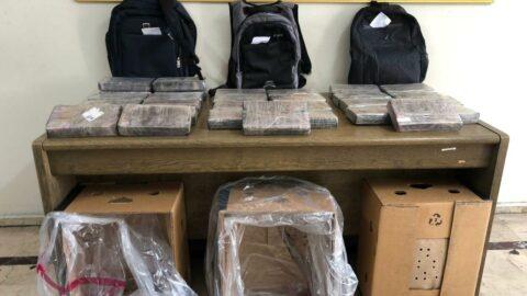 Mersin Limanında 30 kilo kokain ele geçirildi