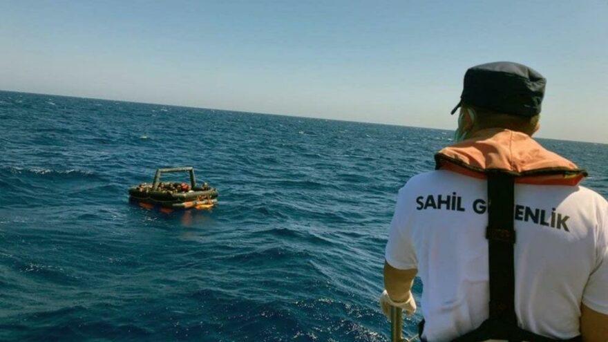 Marmaris'te 39 göçmen kurtarıldı