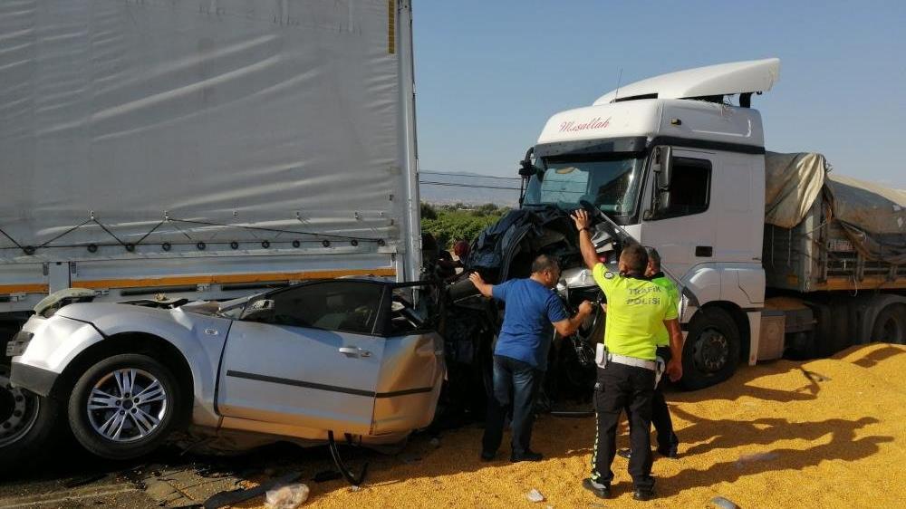 Katliam gibi kazada TIR sürücüsü tutuklandı