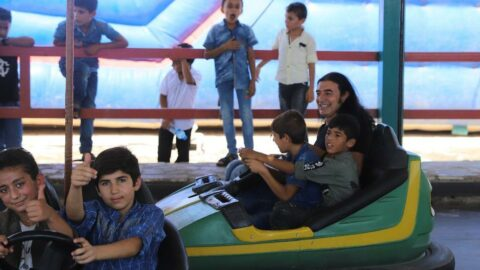Kekilli: 'Yeryüzünün en masum varlıkları çocuklar. Hele bir de savaş mağduruysa...'