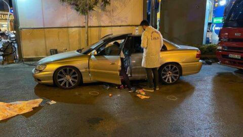 Maltepe'de park halindeki araca silahlı saldırı