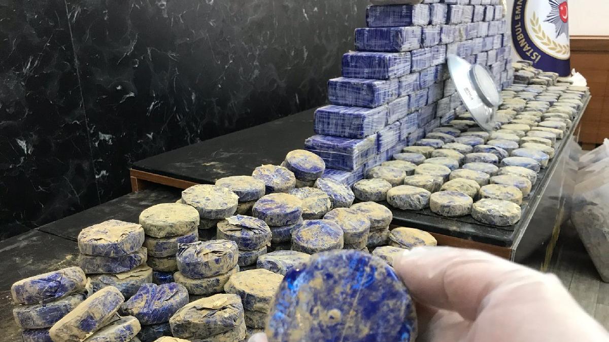 İstanbul'da yarım tona yakın uyuşturucu yakalandı