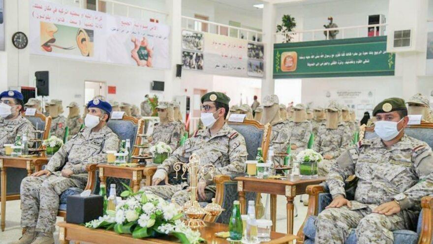 Suudi Arabistan'da ilk kadın askerler mezun oldu