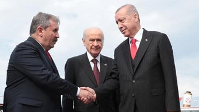 Destici'den Erdoğan ve Bahçeli'ye seçim barajı tepkisi