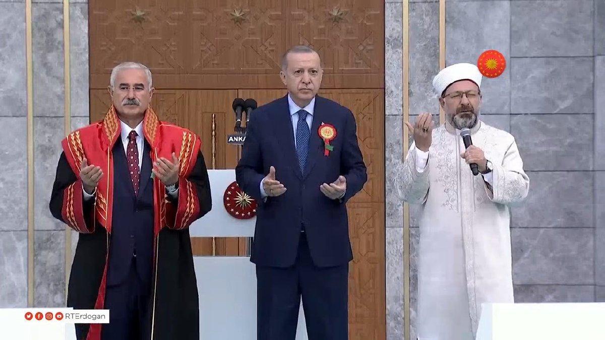 Yargıtay binası açılışında Ali Erbaş dua etti: Bereketli eyle Allah'ım...