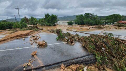 İspanya'da şiddetli yağış sele neden oldu