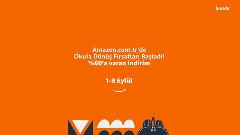 Amazon Türkiye'nin Okula Dönüş Fırsatları başladı: Yeni okul yılı için ihtiyacınız olan tüm ürünler Amazon.com.tr'de