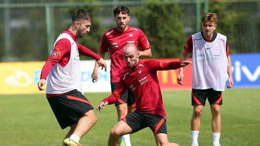 Halil Dervişoğlu milli takıma katıldı