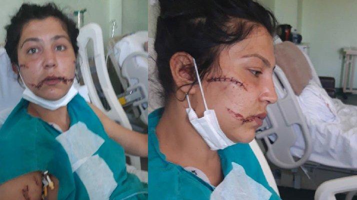 Eşini banyoya kilitleyip, bebeğinin yanında bıçakladı
