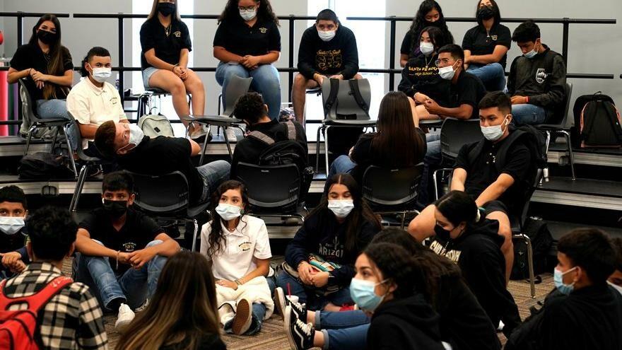 ABD'de okullar açılırken çocuklarda Covid-19 oranları artmaya başladı