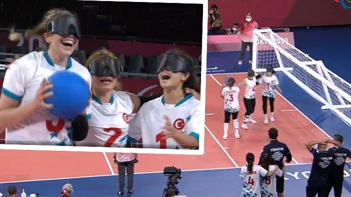 Muhteşem gurur! Kadın Golbol Milli Takımımız finalde…