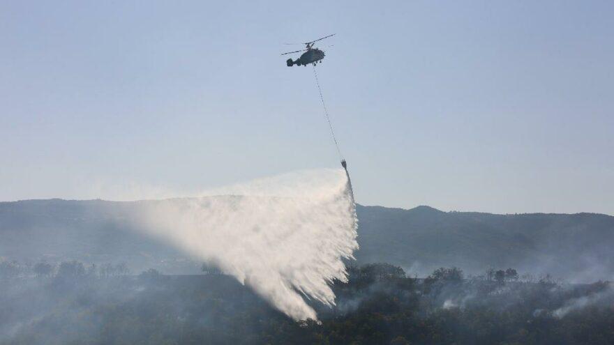 Tunceli'deki 5 yangından 4'ü söndürüldü
