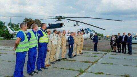 Ukrayna'nın Türkiye'ye destek için gönderdiği 2 helikopter döndü