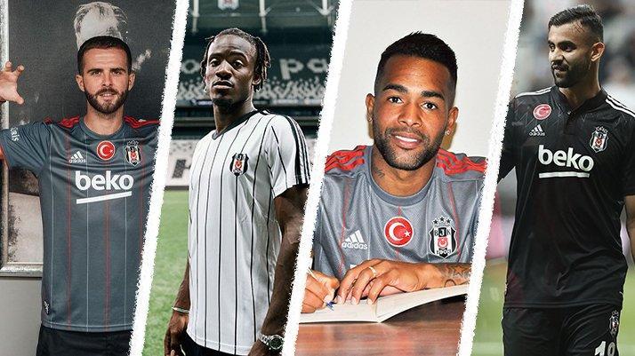 Beşiktaş transfere damga vurdu! Batshuayi, Ghezzal, Alex Teixeira ve Pjanic'in maliyetleri...