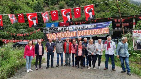 Taş ocağına karşı çıkan köylüler Erdoğan'a cevap verdi