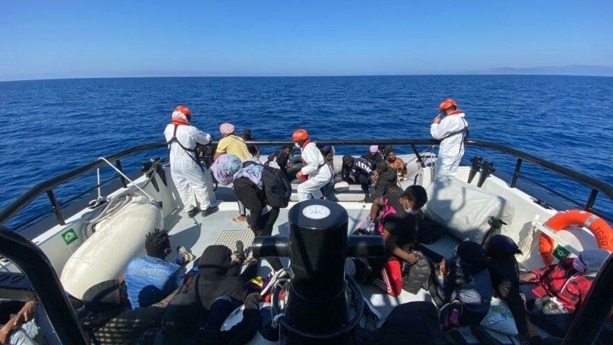 6 günde 1248 düzensiz göçmen yakalandı