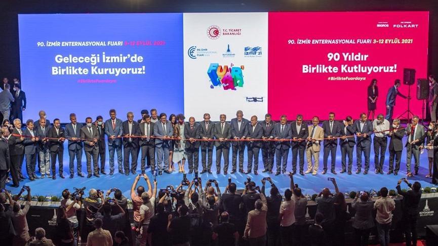 İzmir Enternasyonal Fuarı kapılarını açtı