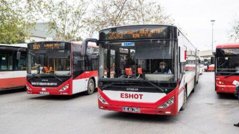 İzmir'de öğrenciye ve öğretmene ilk hafta toplu ulaşım 5 kuruş