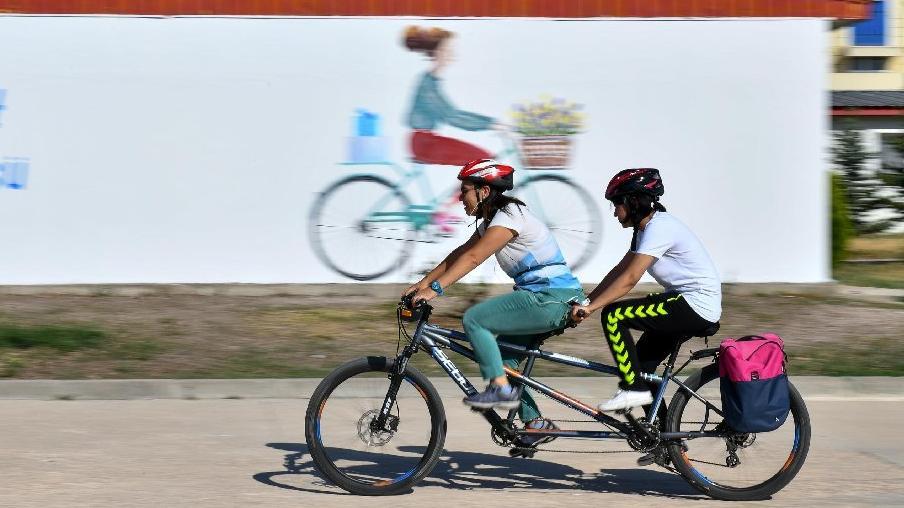 Başkente bisiklet kampüsü