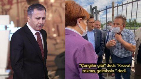 İstanbul Valisi'nden vatandaşa: Çengiler gibi kravat takmış gelmişsin