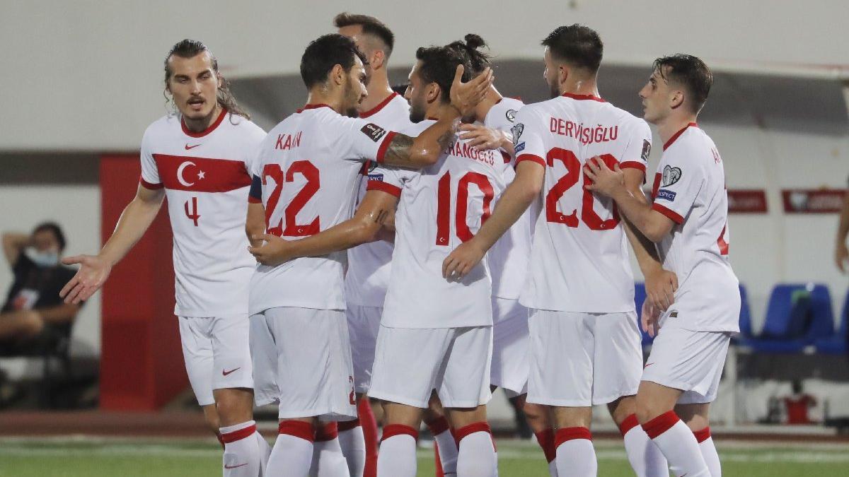 Cebelitarık-Türkiye maçında üç puan üç golle geldi