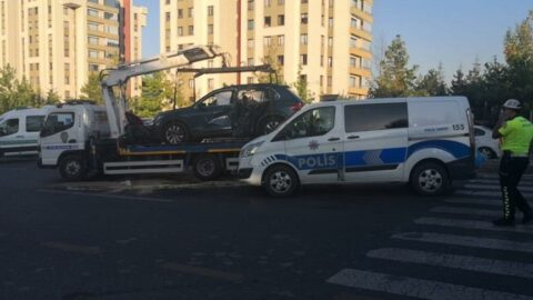Ankara'da feci kaza: 2 ölü, 2 yaralı