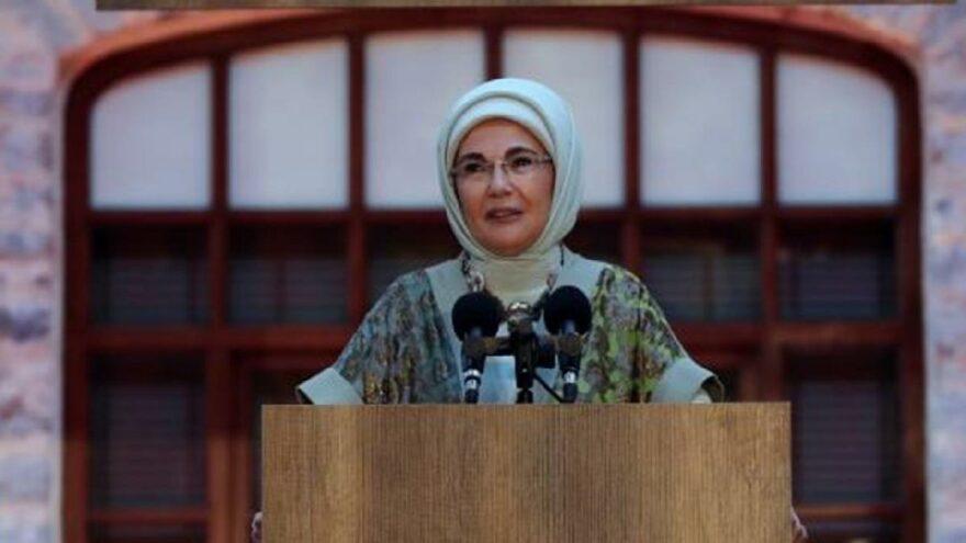 Emine Erdoğan, kitabının tanıtımını yaptı