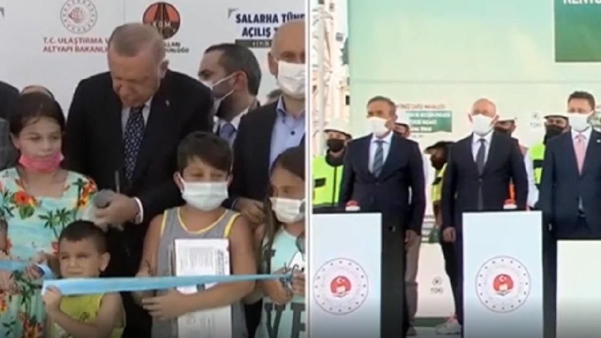 Erdoğan'dan uzun saçlı çocuğa: Ulan oğlum bu ne hal? Geç şuraya