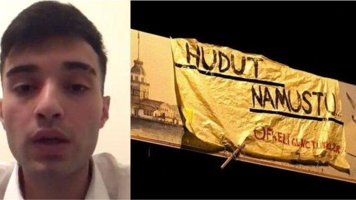 'Hudut namustur' pankartı açtıktan sonra kaçırılan Ahmet Çakmak'ın ifadesi ortaya çıktı