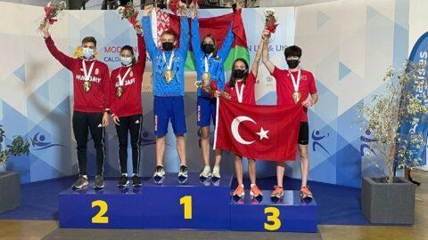 Portekiz'den bronz madalya geldi