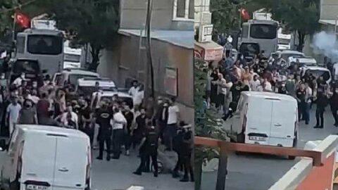 Silahlı saldırı sonrası mahalle savaş alanına döndü