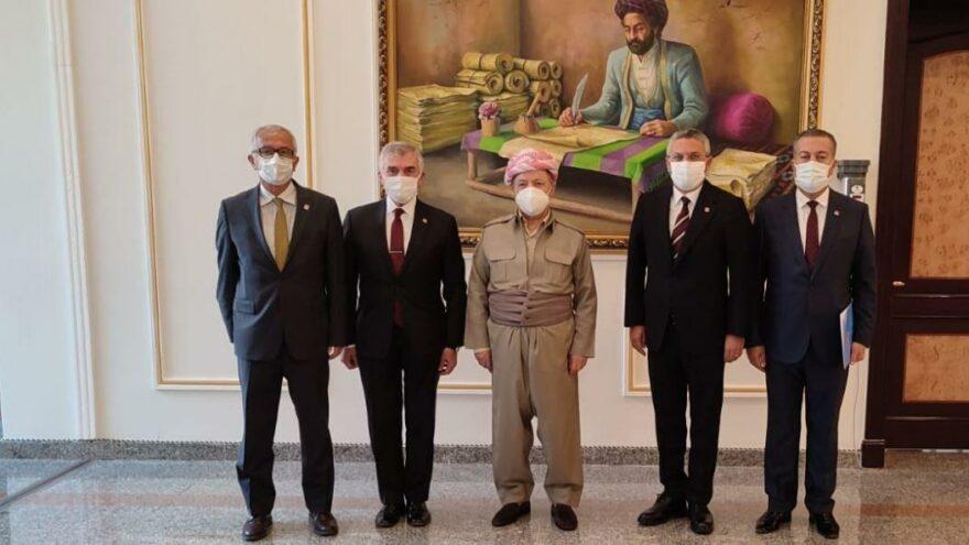 CHP heyeti Barzani ile görüştü