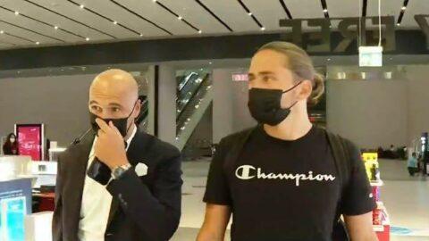 Fenerbahçe'nin yeni transferi Miguel Crespo İstanbul'a indi
