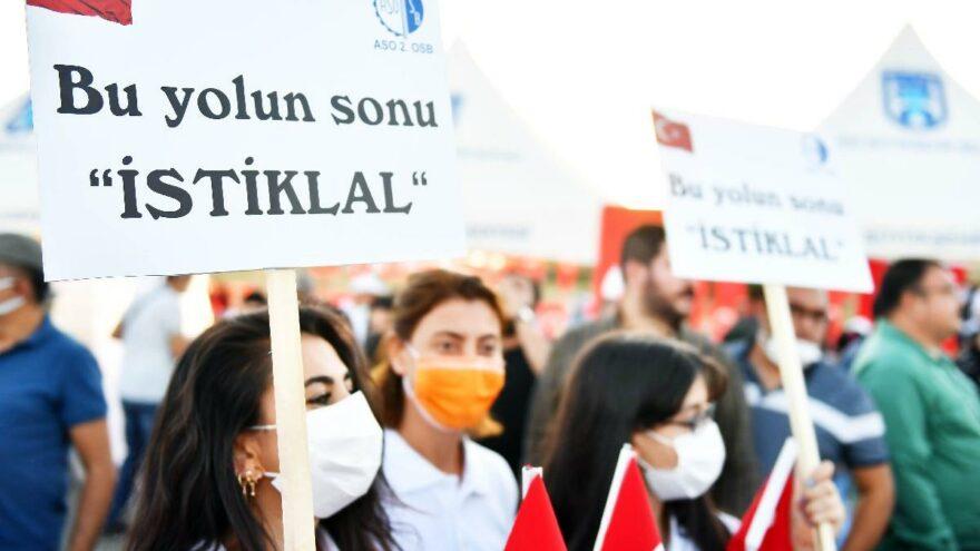 Sakarya Zaferi'nin 100'üncü büyük yürüyüş