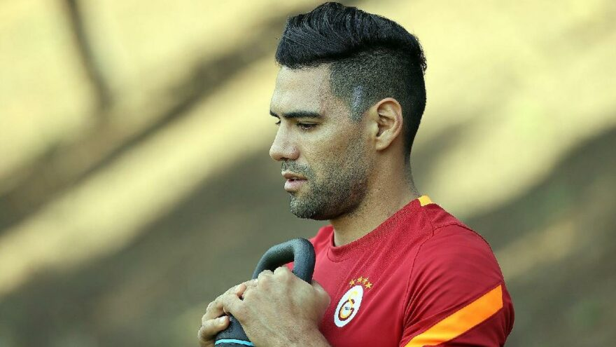 Falcao'dan Galatasaray'a veda mesajı