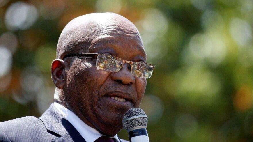 Tutuklanan eski Cumhurbaşkanı Zuma'ya şartlı tahliye