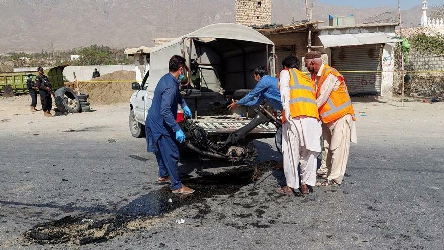 Pakistan'da intihar saldırısı: Ölü ve yaralılar var